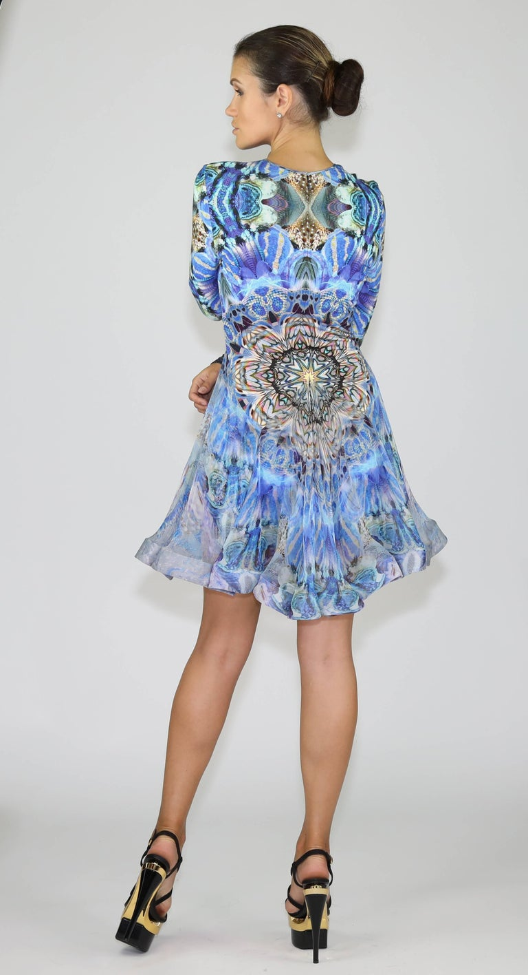 Rare S/S 2010 Plato's Atlantis Alexander Mcqueen dress For Sale 3
