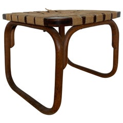 Rare Stool Thonet B313 by Frank Josef, 1930