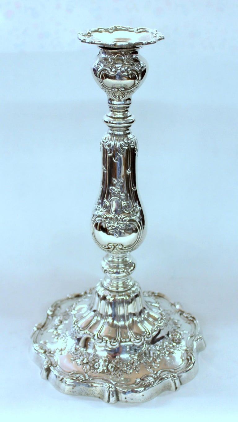 Sterling Silver Rare Suite of Four Gorham Sterling