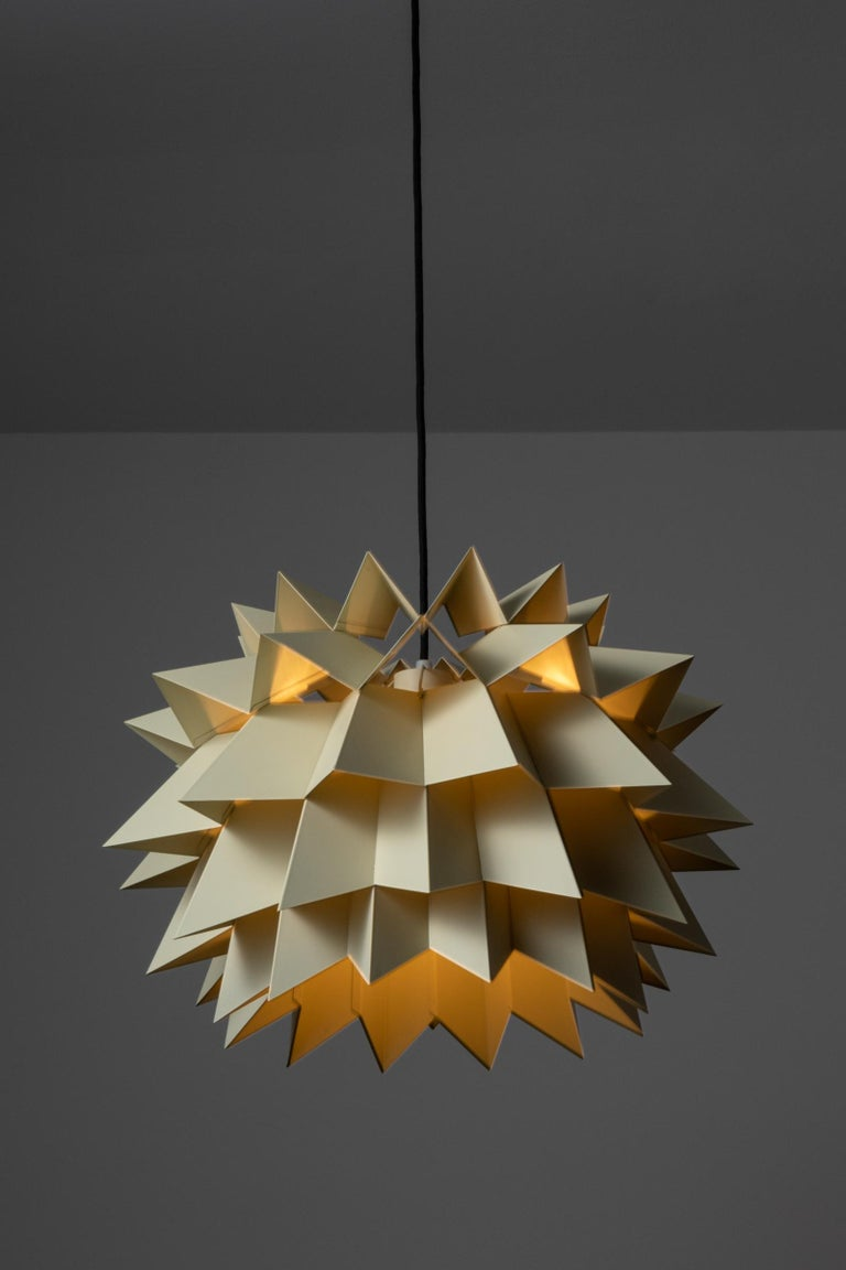 Mid-Century Modern Rare Suspension Light by Anton Fogh Holm and Alfred Andersen for Nordisk Solar