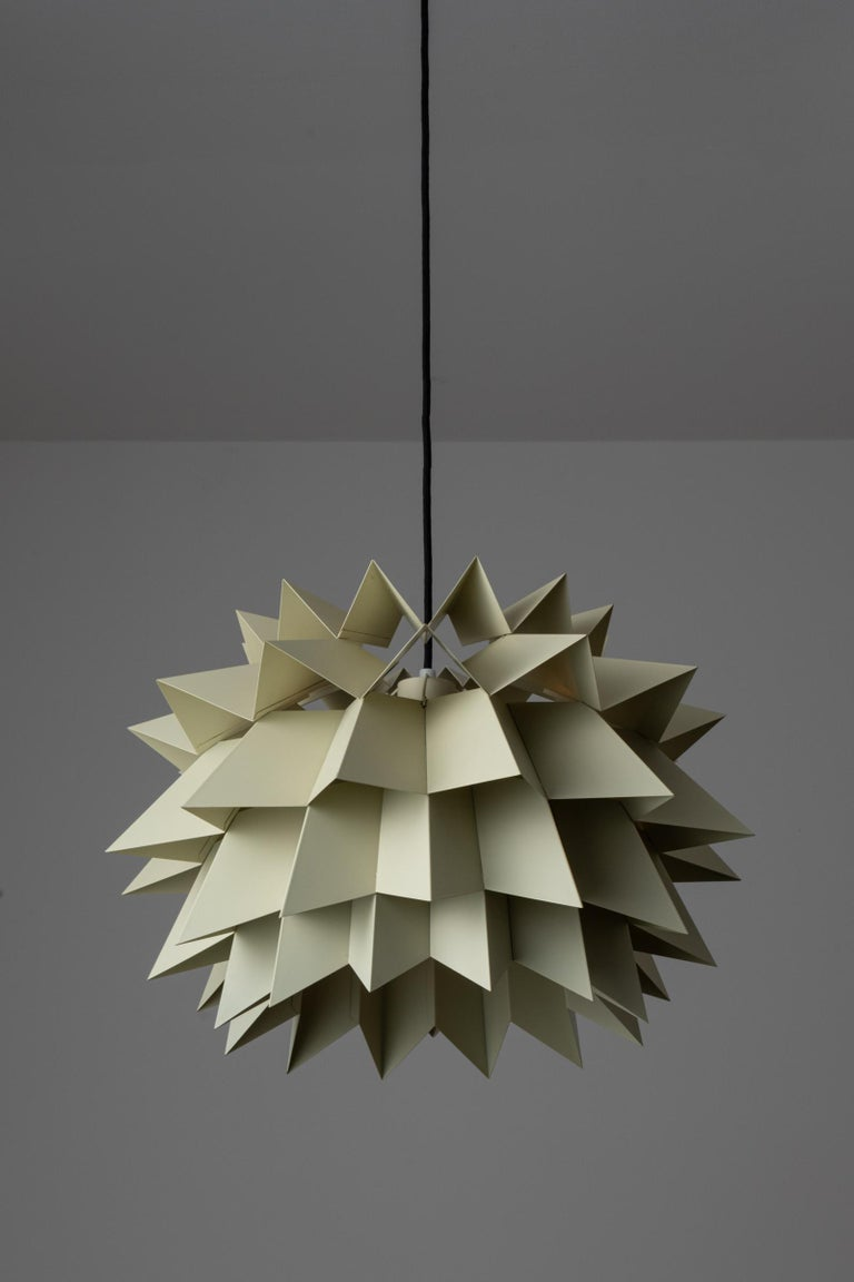 Danish Rare Suspension Light by Anton Fogh Holm and Alfred Andersen for Nordisk Solar