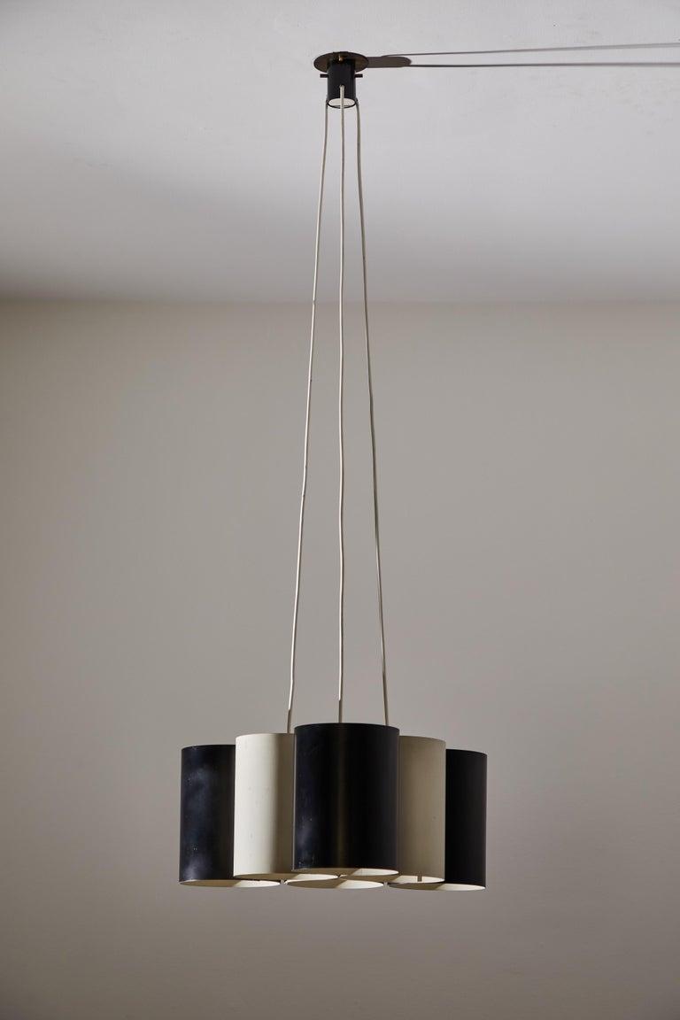 Rare Suspension Light by Stilnovo For Sale 2