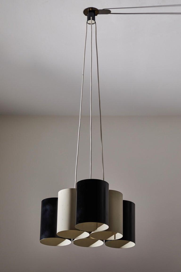 Rare Suspension Light by Stilnovo For Sale 3