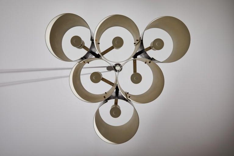 Rare Suspension Light by Stilnovo For Sale 4