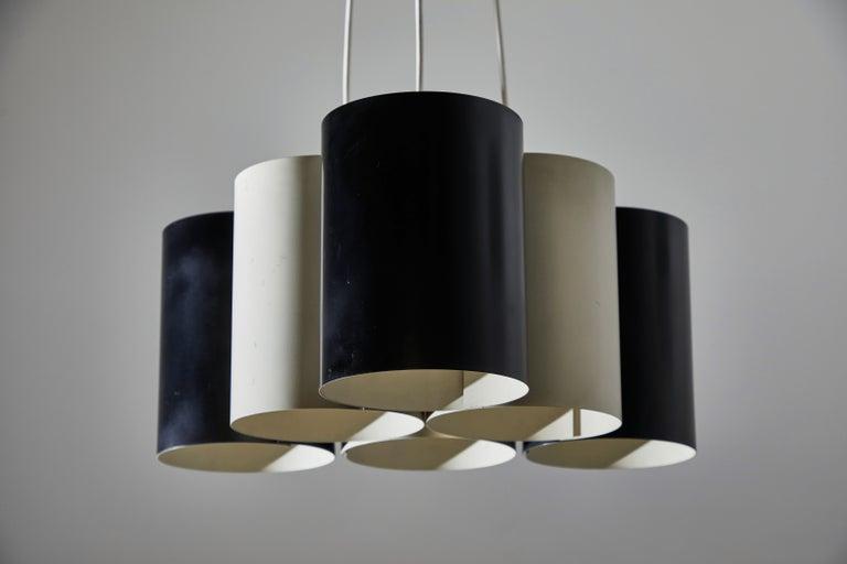 Rare Suspension Light by Stilnovo For Sale 5