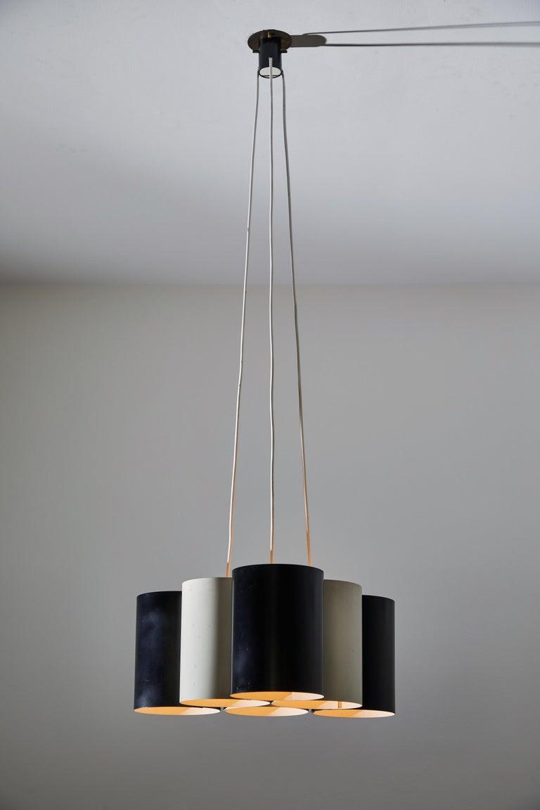 Mid-Century Modern Rare Suspension Light by Stilnovo For Sale