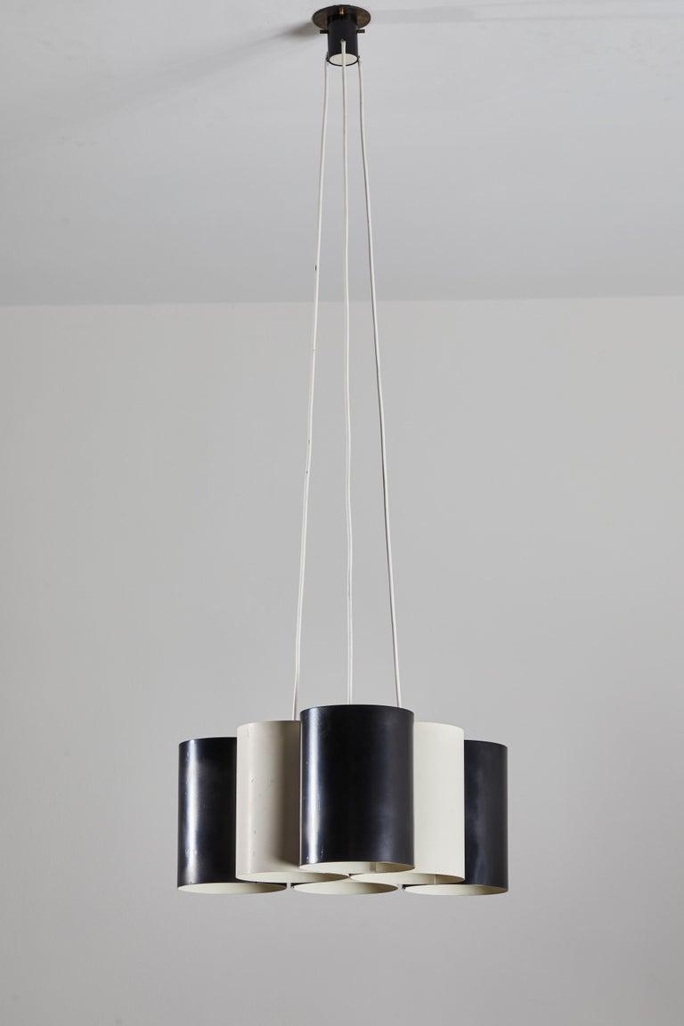 Mid-20th Century Rare Suspension Light by Stilnovo For Sale