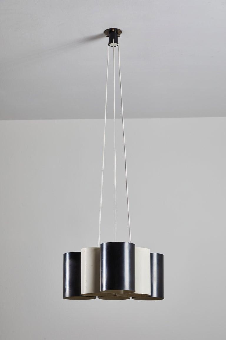 Metal Rare Suspension Light by Stilnovo For Sale
