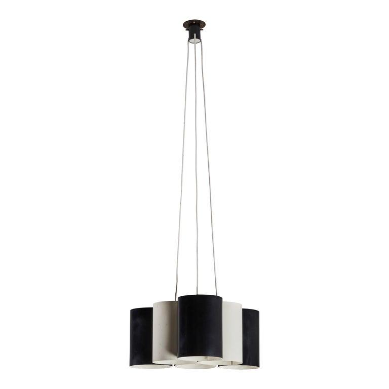 Rare Suspension Light by Stilnovo For Sale