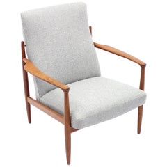 Rare Swedish Teak Easy Chair by Bröderna Andersson, 1960s