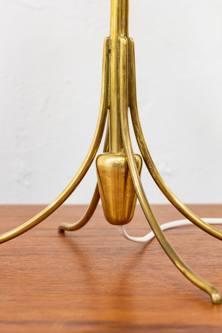 Rare Table Lamp by Bertil Brisborg for Nordiska Kompaniet, Sweden, 1950s In Good Condition For Sale In Stockholm, SE