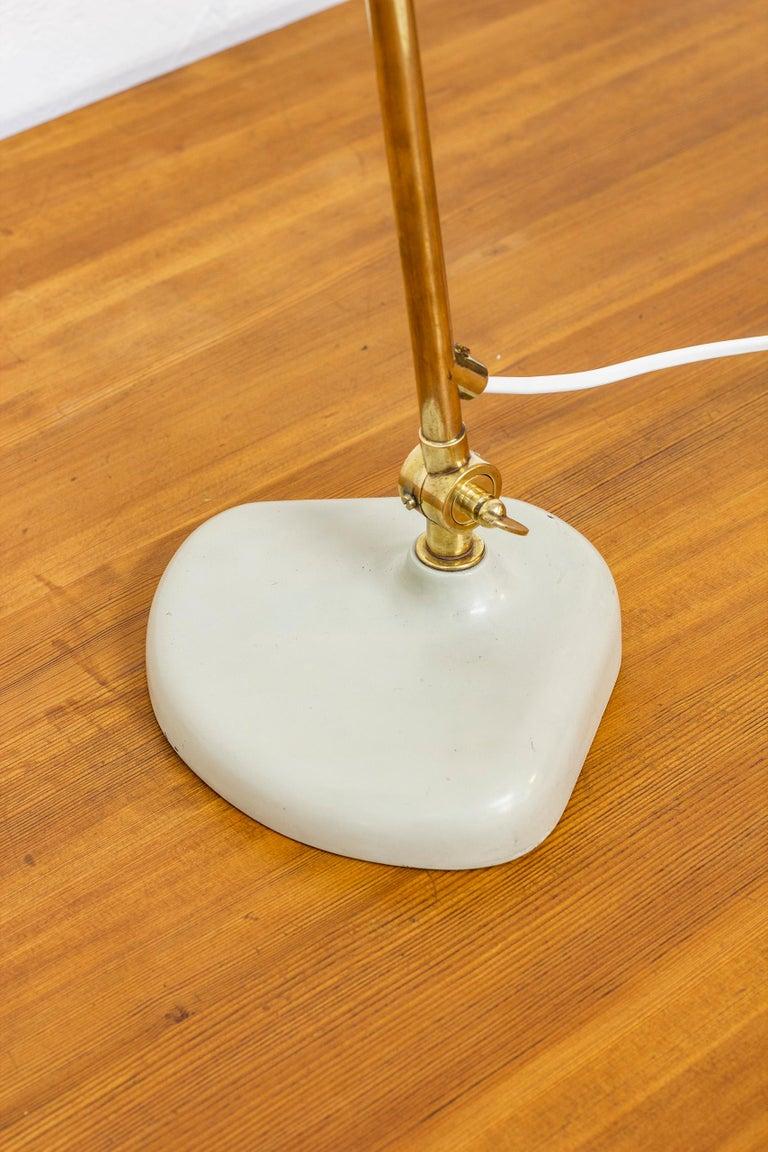 Rare Table Lamp by Bertil Brisborg Fro Nordiska Kompaniet NK, Sweden, 1940s For Sale 1