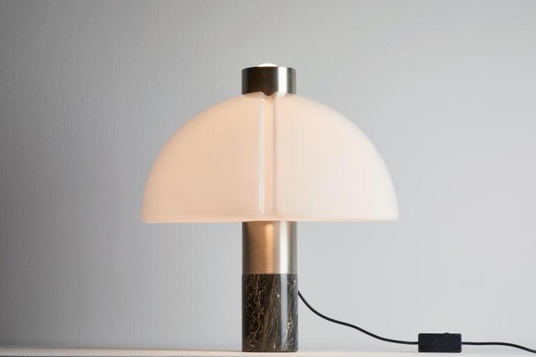 Mid-Century Modern Rare Table Lamp by Sergio Mazza and Giuliana Gramigna for Quattrifolio Design For Sale