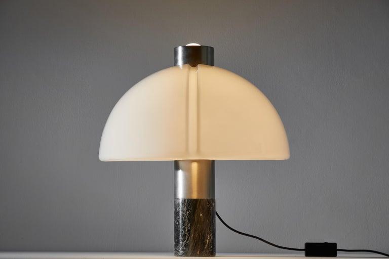Italian Rare Table Lamp by Sergio Mazza and Giuliana Gramigna for Quattrifolio Design For Sale