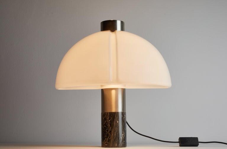 Rare Table Lamp by Sergio Mazza and Giuliana Gramigna for Quattrifolio Design In Good Condition For Sale In Los Angeles, CA