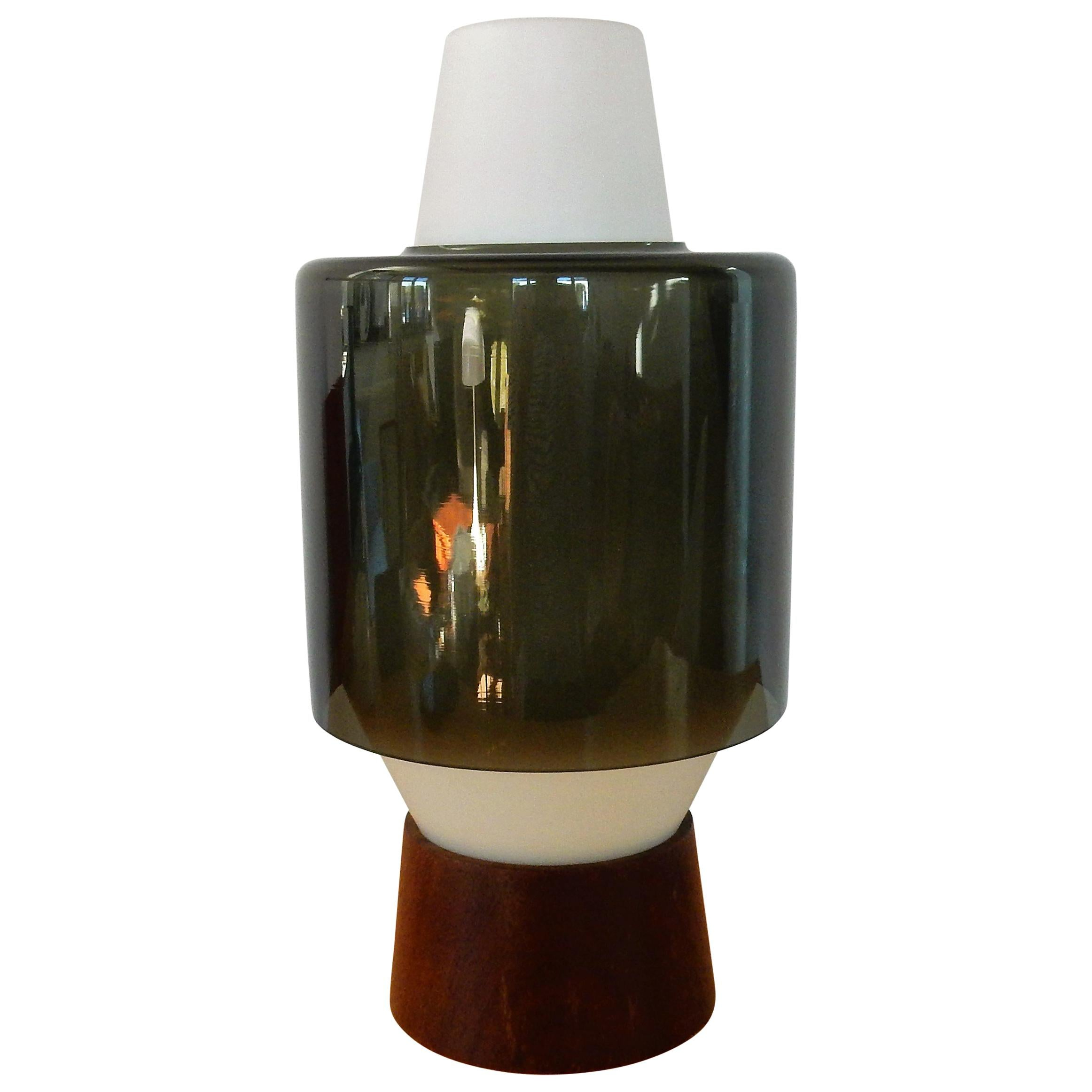 Rare Table Lamp by Viktor Berndt for Flygsfors, Sweden, 1960s