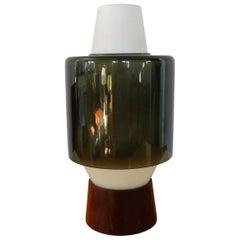 Rare Table Lamp by Viktor Berndt for Flygsfors, Sweden, 1960s