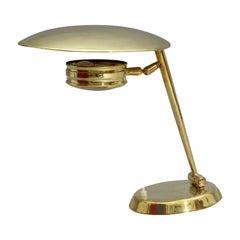 Rare Table Lamp Lumen, Italy, 1950