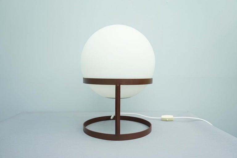 Very rare Carl Auböck table lamp, 1969, Austria