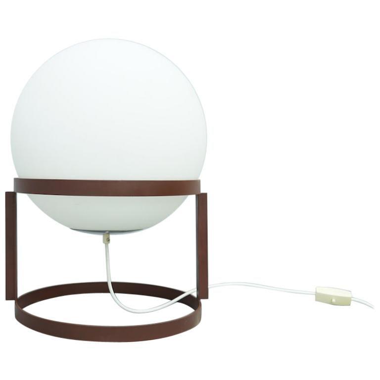 Rare Table Lamp 'Tischkugelleuchte' by Carl Auböck, 1969 For Sale