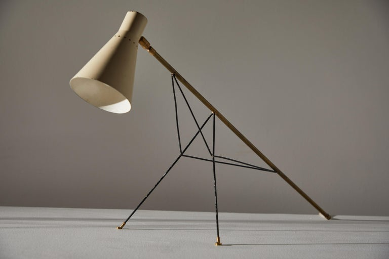 Rare Table or Wall Light by Stilnovo For Sale 2