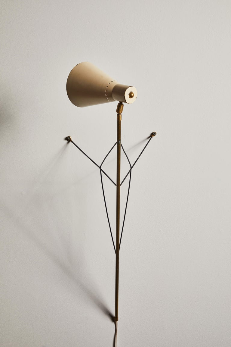 Rare Table or Wall Light by Stilnovo For Sale 6