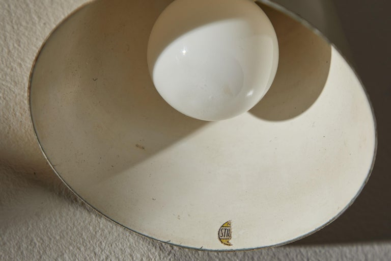 Rare Table or Wall Light by Stilnovo For Sale 11