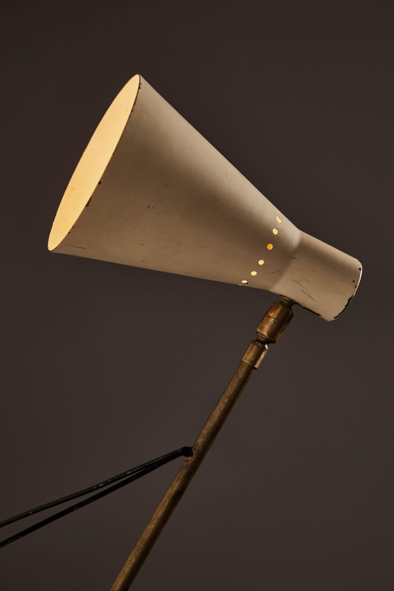 Italian Rare Table or Wall Light by Stilnovo For Sale
