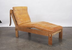 Rare Tage Poulsen Daybed / Chaise Longue / Recliner, Denmark, 1960s