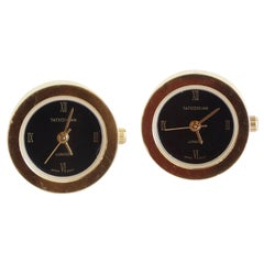Rare Tateossian London Clock Cufflinks