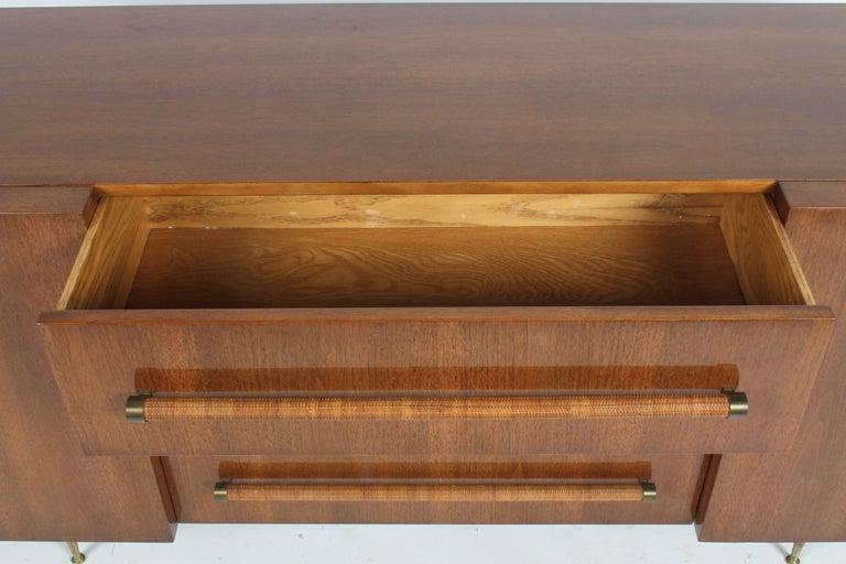 Rare T.H. Robsjohn-Gibbings for Widdicomb Sideboard For Sale 5