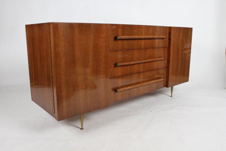 Rare T.H. Robsjohn-Gibbings for Widdicomb Sideboard For Sale 10