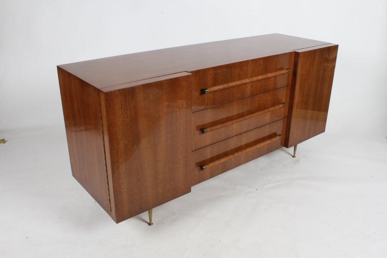 Mid-Century Modern Rare T.H. Robsjohn-Gibbings for Widdicomb Sideboard For Sale