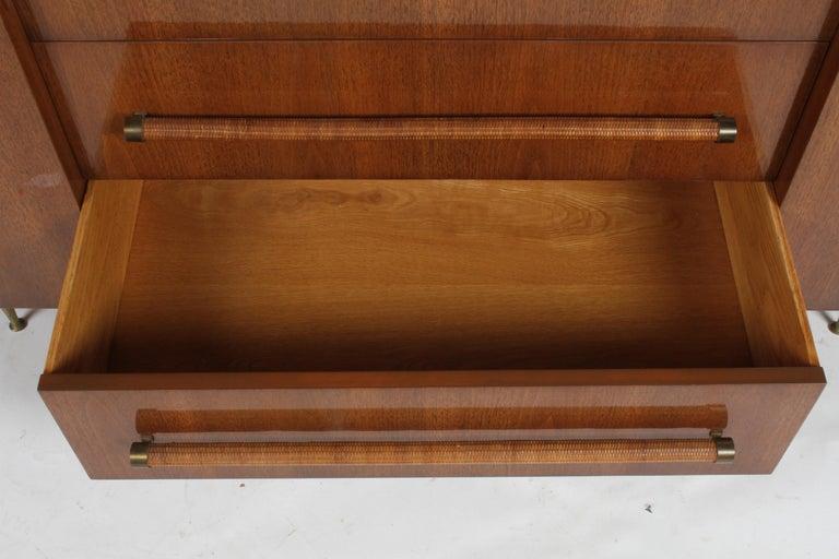 Brass Rare T.H. Robsjohn-Gibbings for Widdicomb Sideboard For Sale