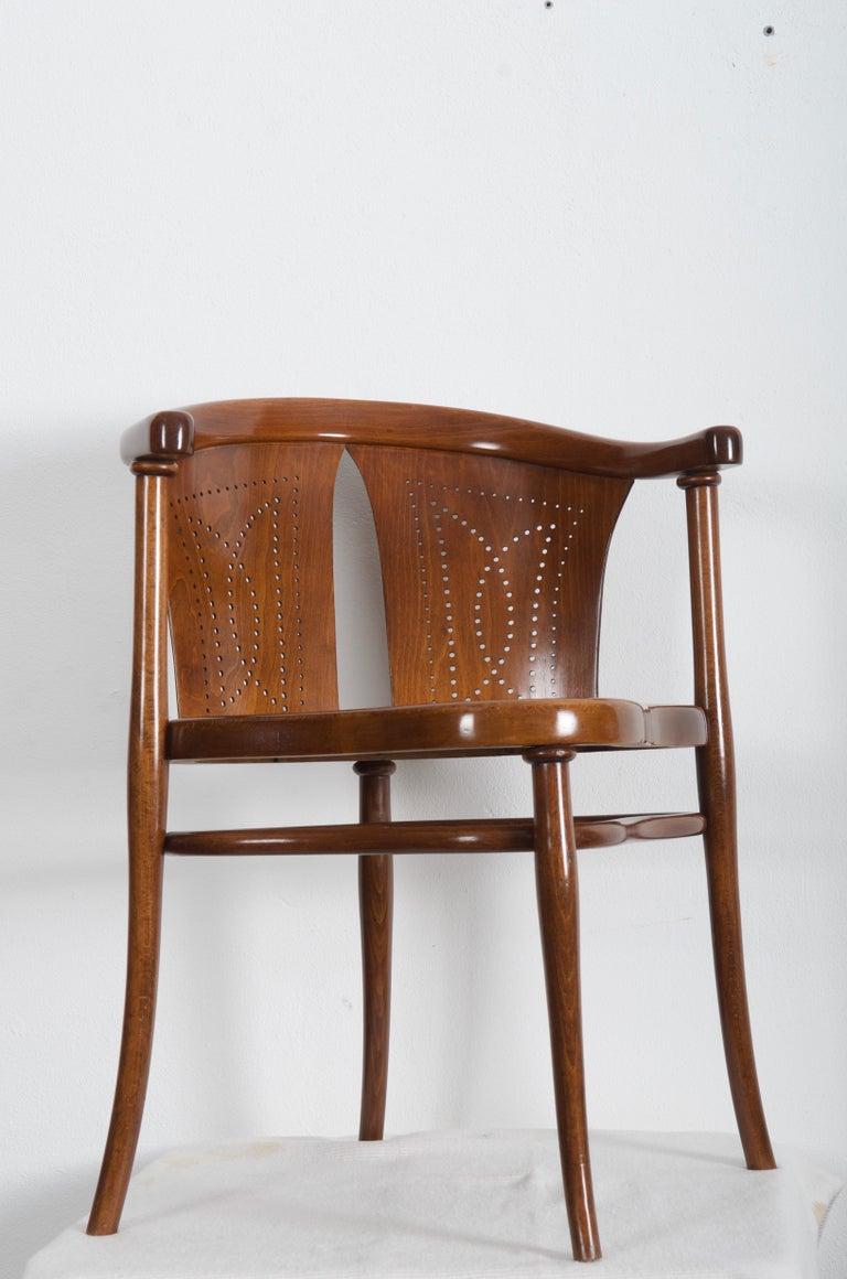 Rare Thonet Armchair Desk Chair Nr. 1 For Sale 3