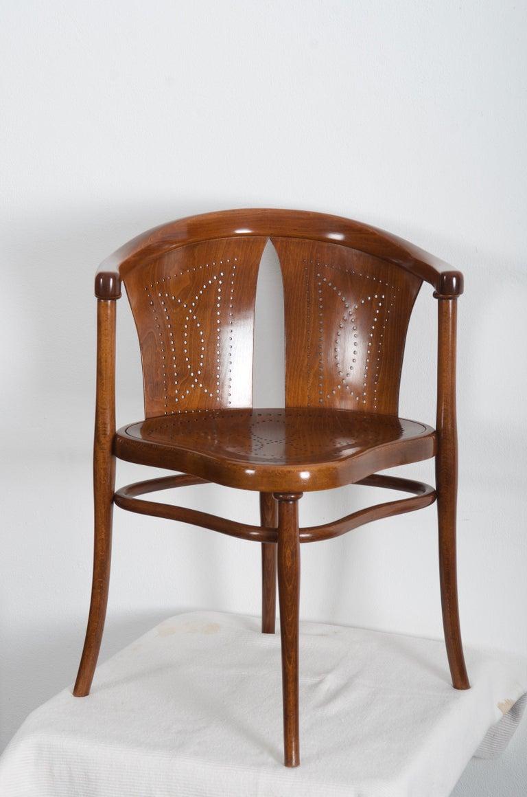 Rare Thonet Armchair Desk Chair Nr. 1 For Sale 5