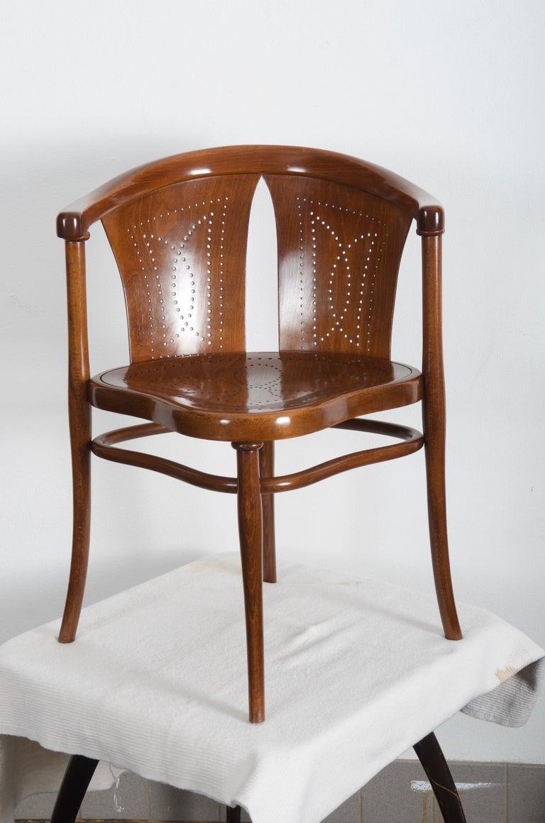 Rare Thonet Armchair Desk Chair Nr. 1 For Sale 6