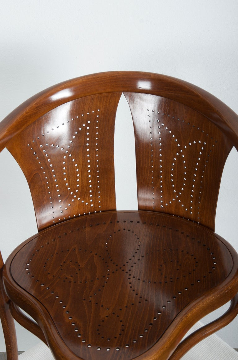 Rare Thonet Armchair Desk Chair Nr. 1 In Excellent Condition For Sale In Vienna, AT