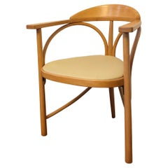 Rare Thonet Three-Legged Armchair, Model No. 81