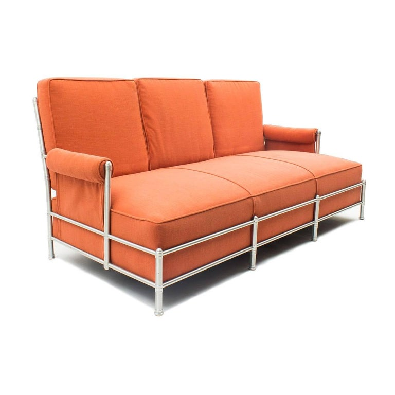 Art Deco Rare Three-Seat Sofa by Warren McArthur 1933-1934 For Sale
