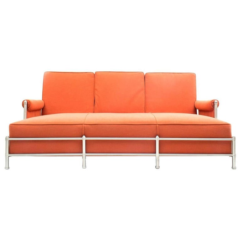 Rare Three-Seat Sofa by Warren McArthur 1933-1934 For Sale