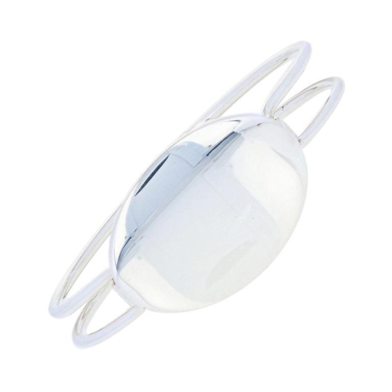 Rare Tiffany & Co. Oval Bangle Bracelet, Sterling Silver Engravable ID
