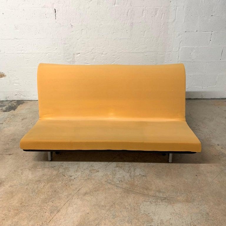 Rare Togo Sleeper Sofa or Futon by Michael Ducaroy for Ligne Roset For Sale 3
