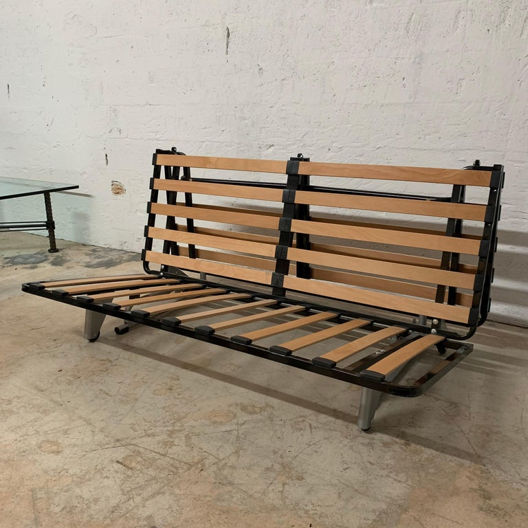 Rare Togo Sleeper Sofa or Futon by Michael Ducaroy for Ligne Roset For Sale 5