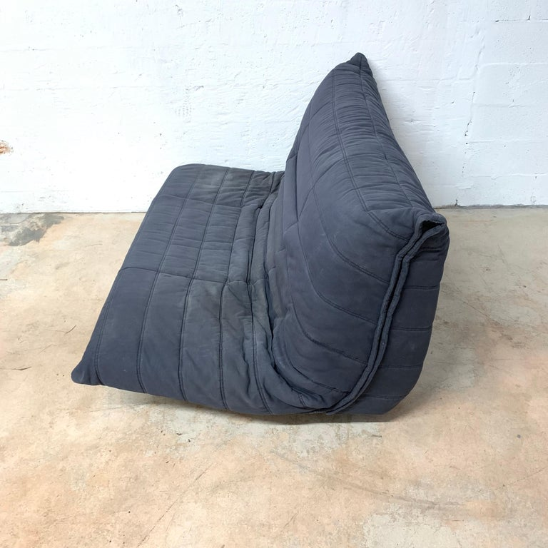 French Rare Togo Sleeper Sofa or Futon by Michael Ducaroy for Ligne Roset For Sale