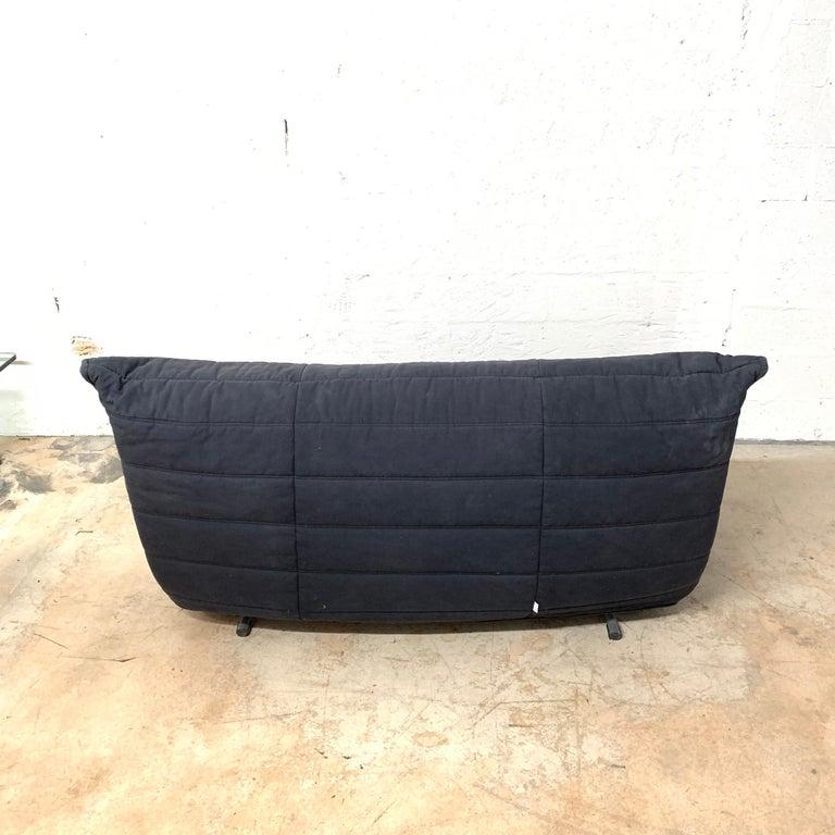Rare Togo Sleeper Sofa or Futon by Michael Ducaroy for Ligne Roset For Sale 1