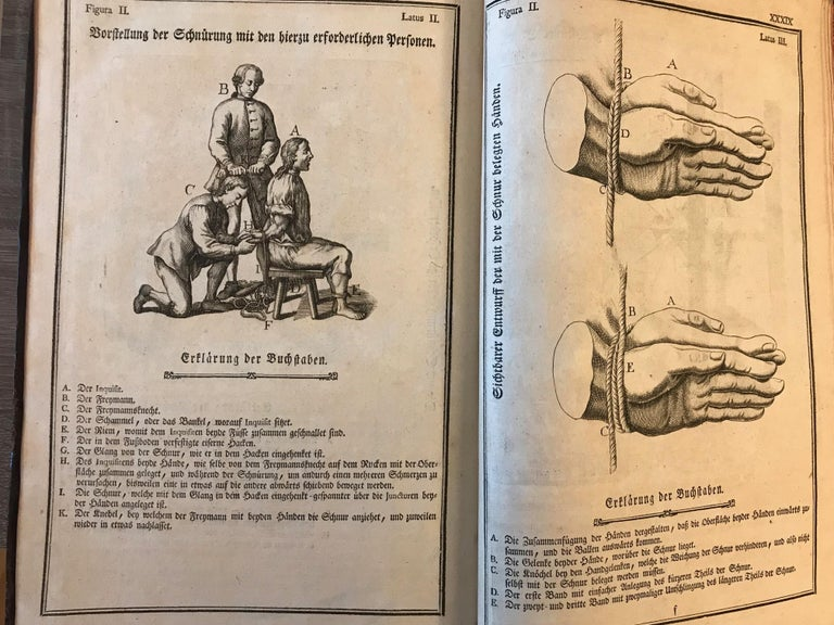 Rare Torture and Law Book, Constitutio Criminalis Theresiana, 1769 For Sale 3