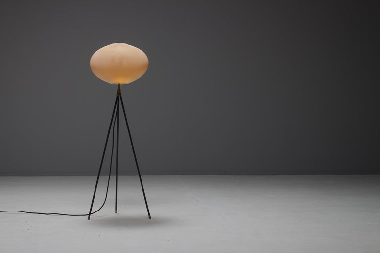 Rare Tripod Floor Lamp by Aro Leuchte, Germany, 1950s For Sale 3