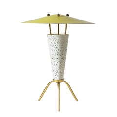 Rare Tripod Table Lamp by Ernest Igl, 1950s
