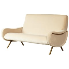 Rare Two-Seat Marco Zanuso Lady Sofa, Arflex, Italy, 1960s-1970s